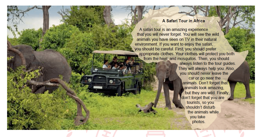 Image for If you want to have a safe and amusing safari tour, you should - - - -.